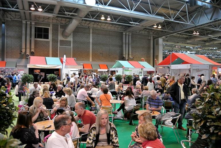 BBC Good Food Show crowds