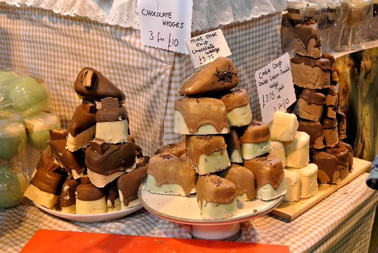 BBC Good Food Show fudge wedge