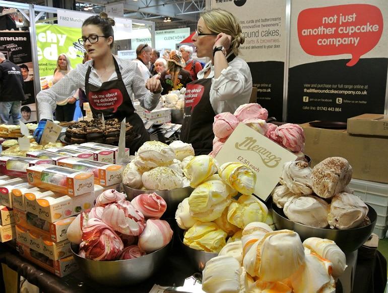 BBC Good Food Show meringues