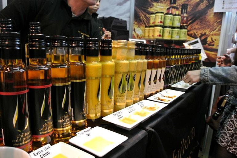 BBC Good Food Show oil