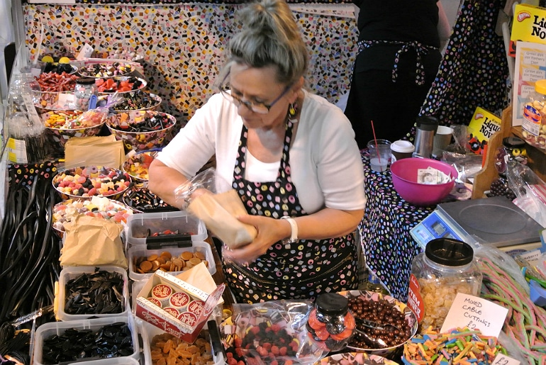 BBC Good Food Show old fashioned sweets