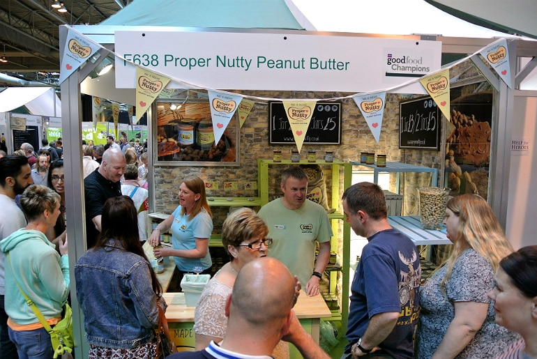 BBC Good Food Show peanut butter