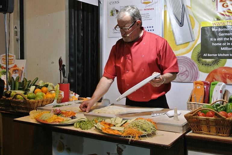 BBC Good Food Show veg slicer