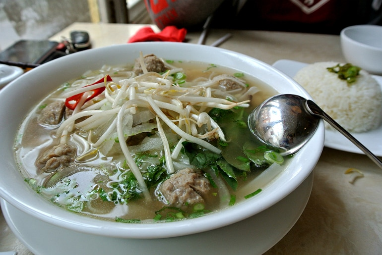 Eat Saigon Northampton review soup