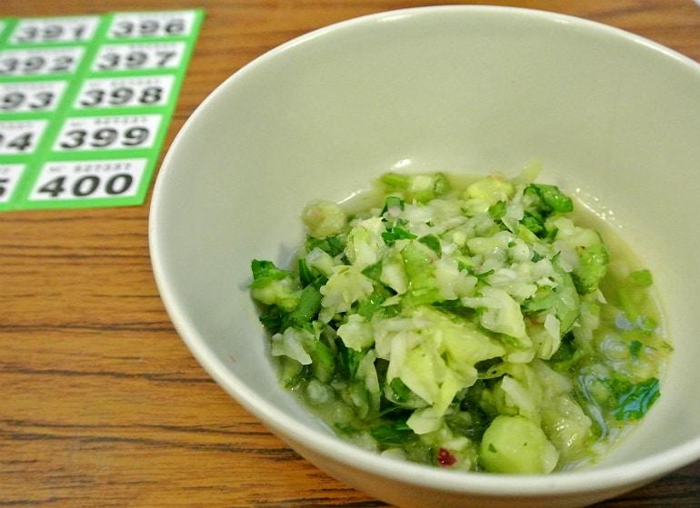 Peru Fundraiser salsa green