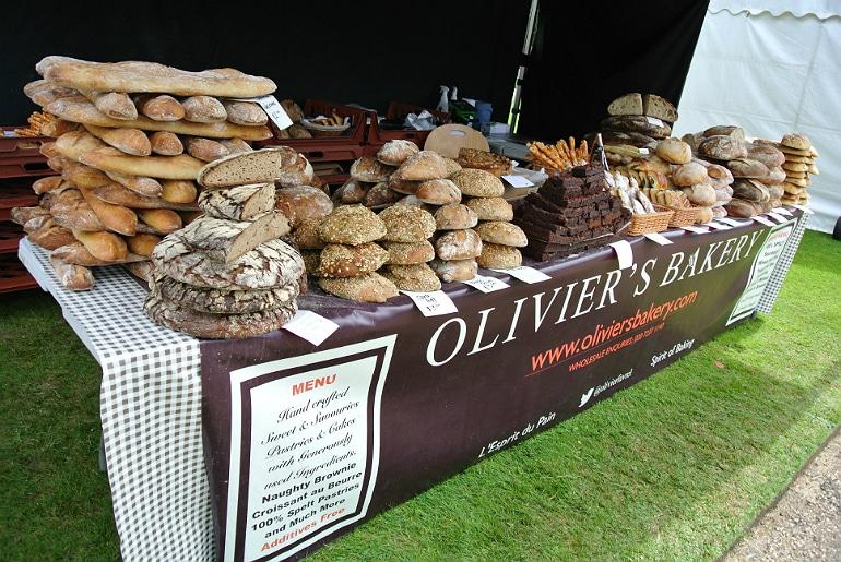 Waddesdon manor feast festival Olivers Bakery