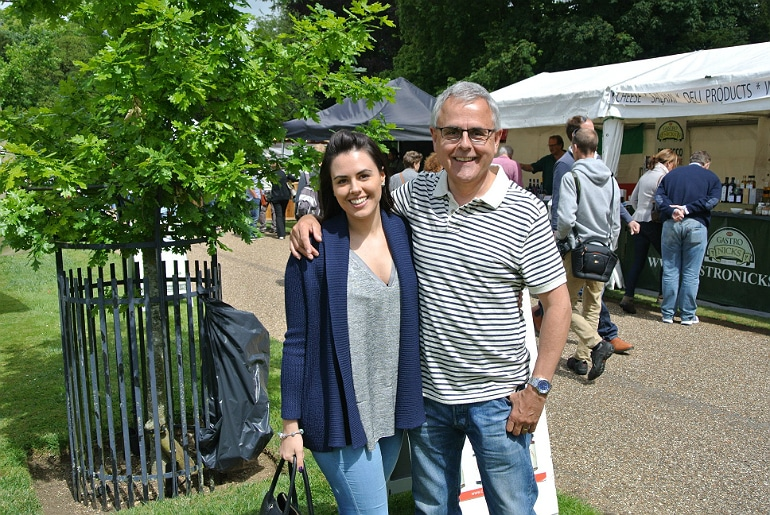 Waddesdon manor feast festival YDS dad