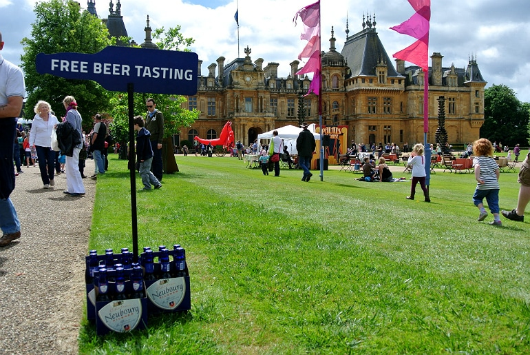 Waddesdon manor feast festival beer