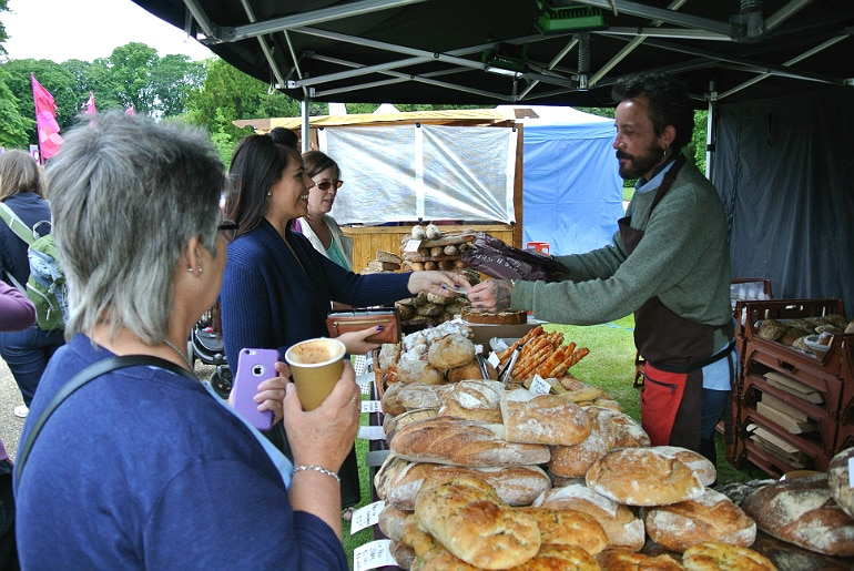 Waddesdon manor feast festival bread