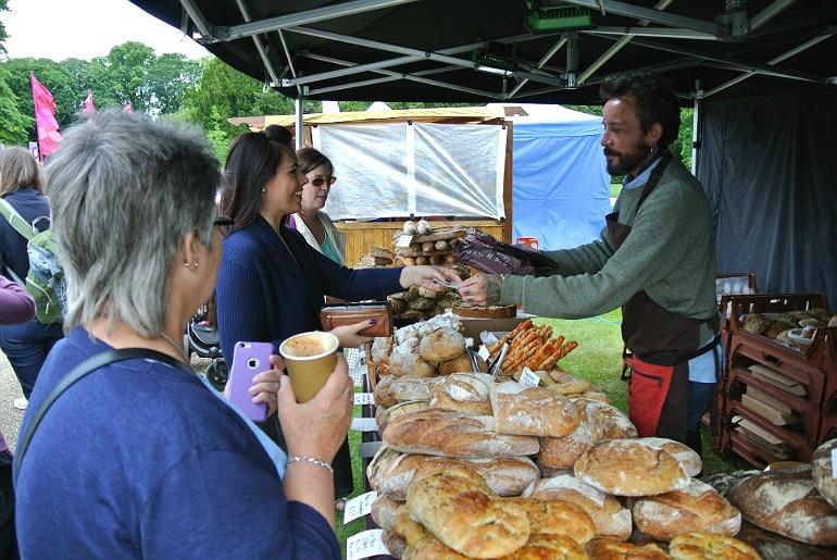 Waddesdon manor feast festival bread