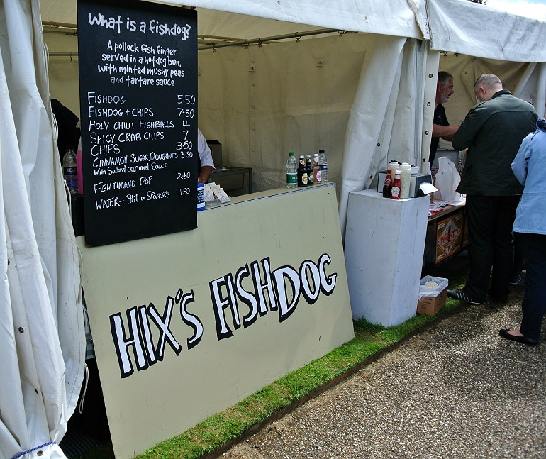 Waddesdon manor feast festival fish dog