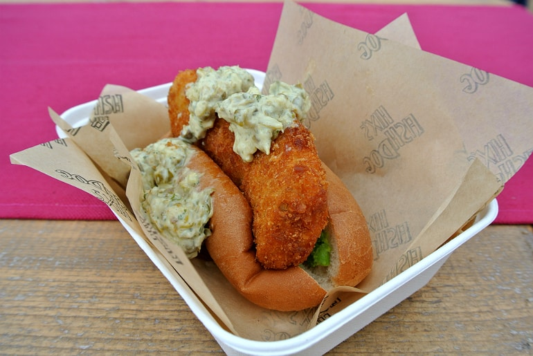 Waddesdon manor feast festival fish dogs
