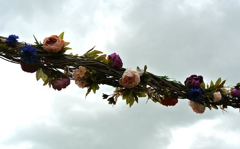Waddesdon manor feast festival flower vine