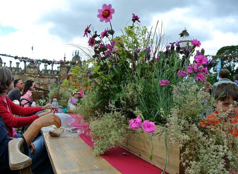 Waddesdon manor feast festival flowers