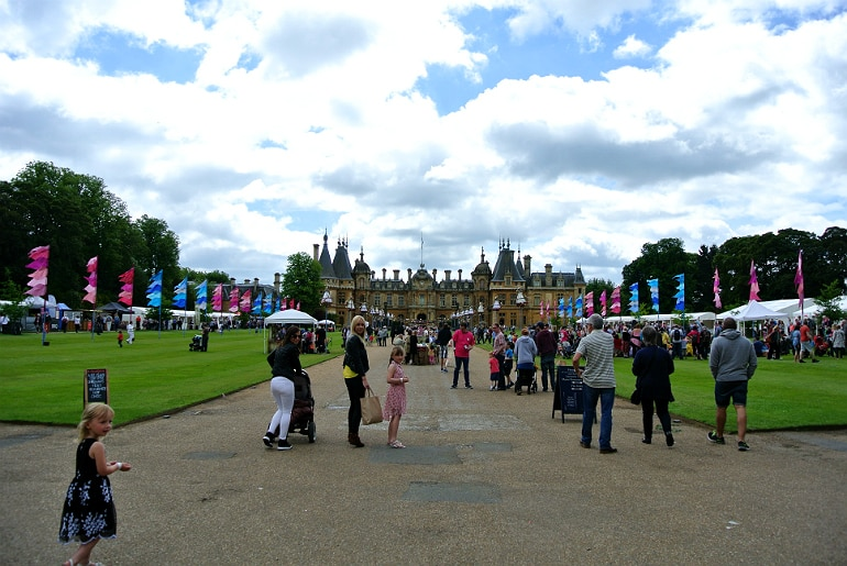 Waddesdon manor feast festival ground