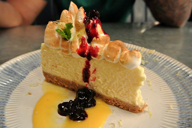 Jamie's Italian Milton Keynes review cheesecake