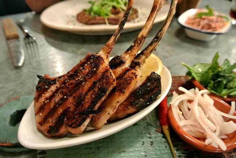 Jamie's Italian Milton Keynes review lamb chops