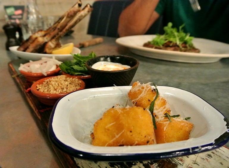 Jamie's Italian Milton Keynes review polenta