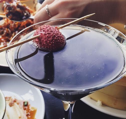 Hutong Shard London cocktail lychee