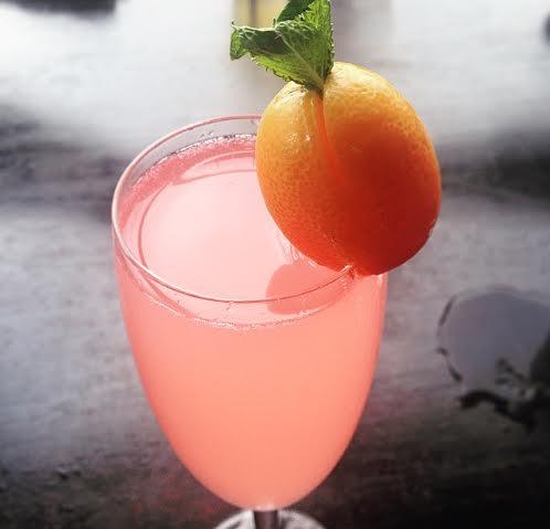 Hutong Shard London cocktail pink