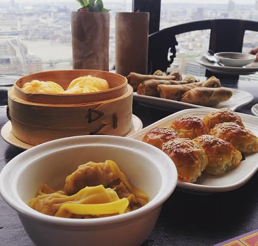 Hutong Shard London dim sum
