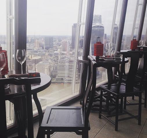 Hutong Shard London restaurant