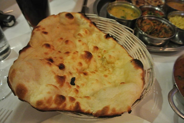 Naan bread Mastee Bletchley review