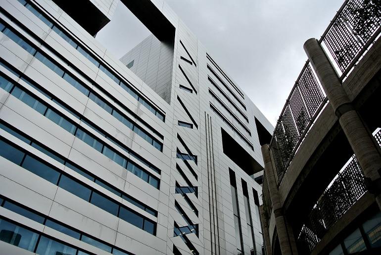 Yauatcha City Broadgate Circle London Review architecture
