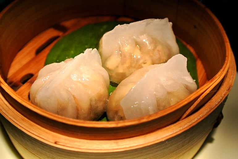 Yauatcha City Broadgate Circle London Review beef dumpling