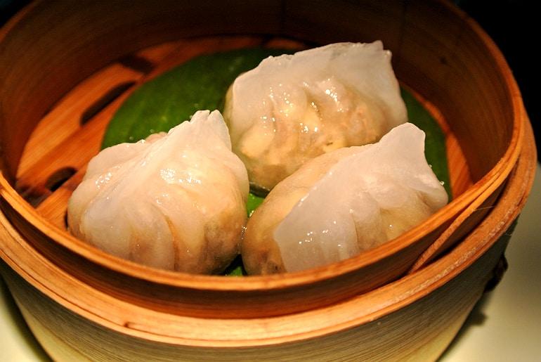 Yauatcha City Broadgate Circle London Review beef dumpling