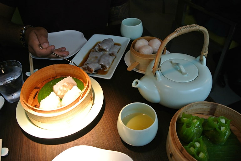 Yauatcha City Broadgate Circle London Review dim sum