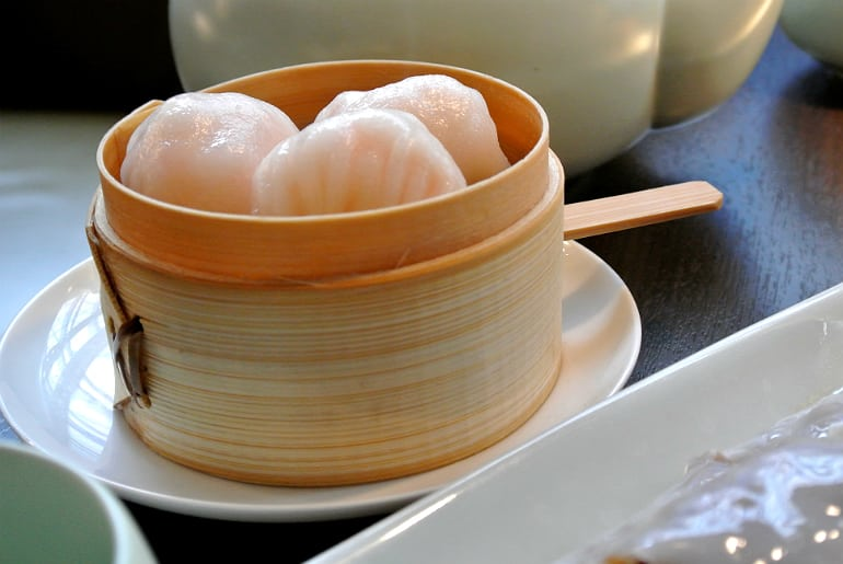 Yauatcha City Broadgate Circle London Review har gau
