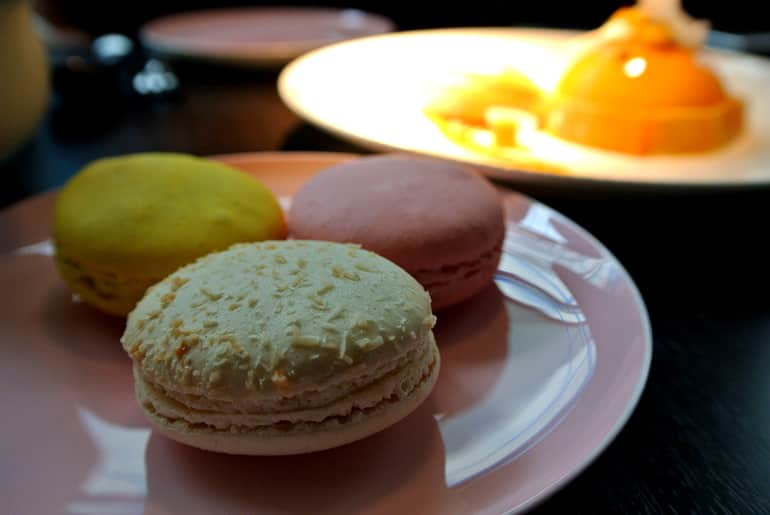 Yauatcha City Broadgate Circle London Review macaron