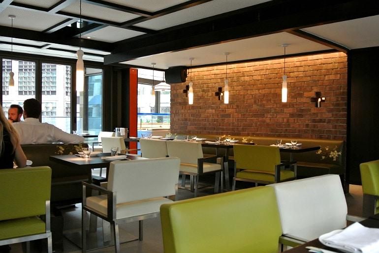 Yauatcha City Broadgate Circle London Review restaurant