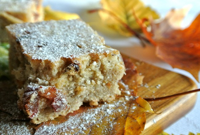 Spiced blondies recipe cover