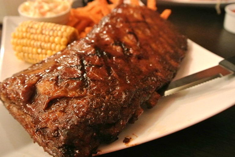 Lone Star Grill Wolverton ribs