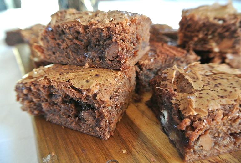 Pick n mix brownies recipe chocolate