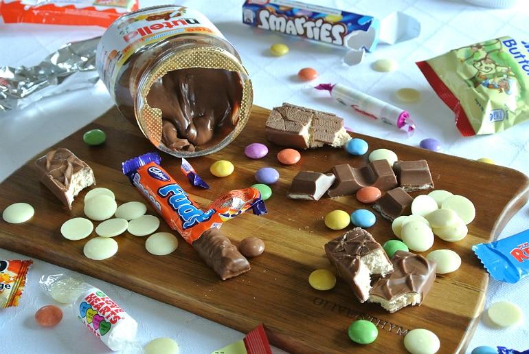 Pick n mix brownies recipe sweets