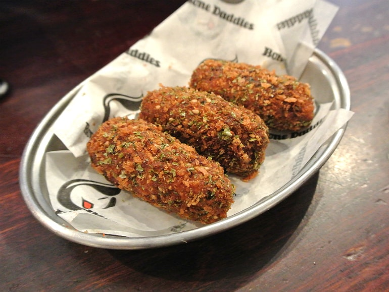 Bone Daddies croquettes review London