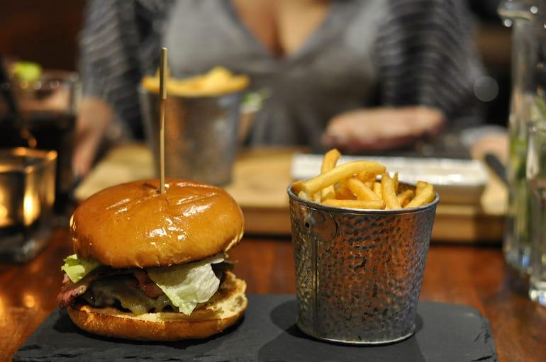 Electric social milton keynes burger chips