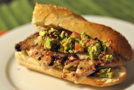 chicken avocado baguette cover