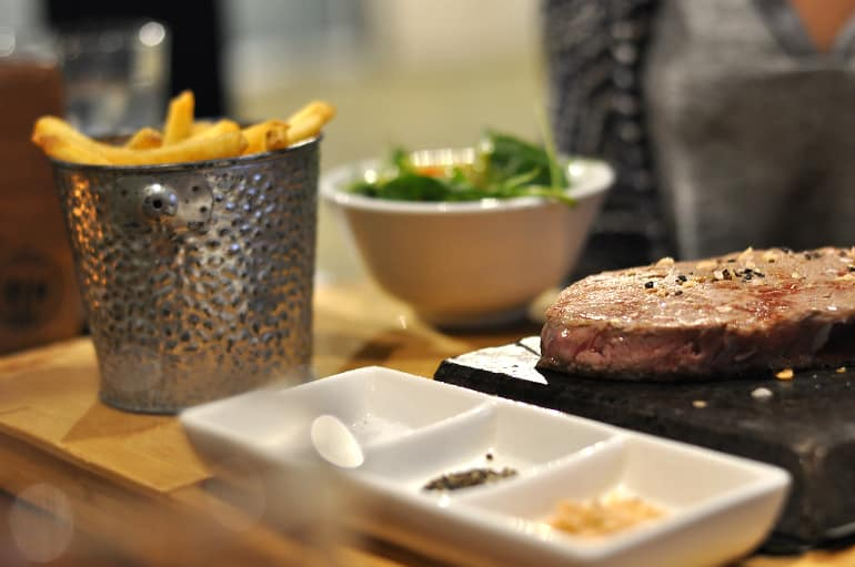 electric social milton keynes steak chips