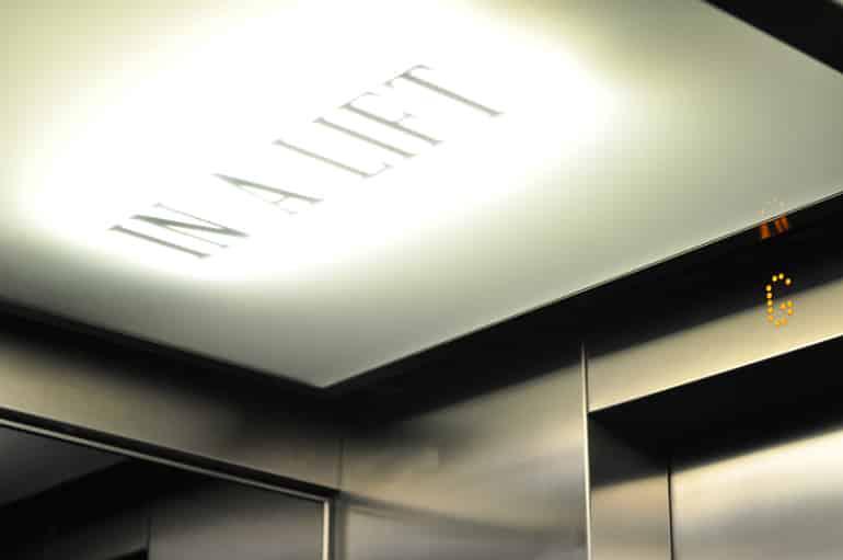 Andaz london lift