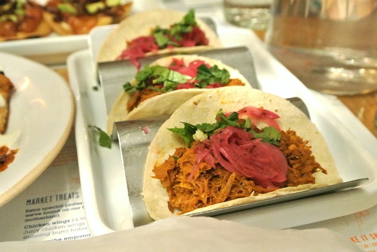 Waha mexican london review pork