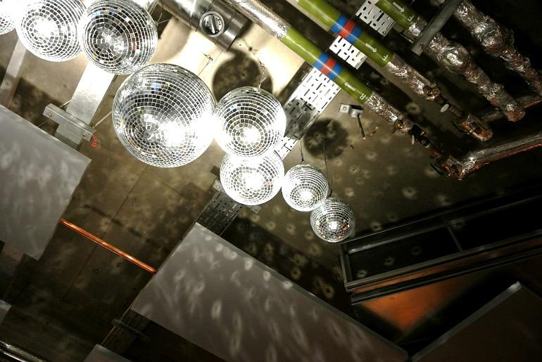 Wahaca London disco balls