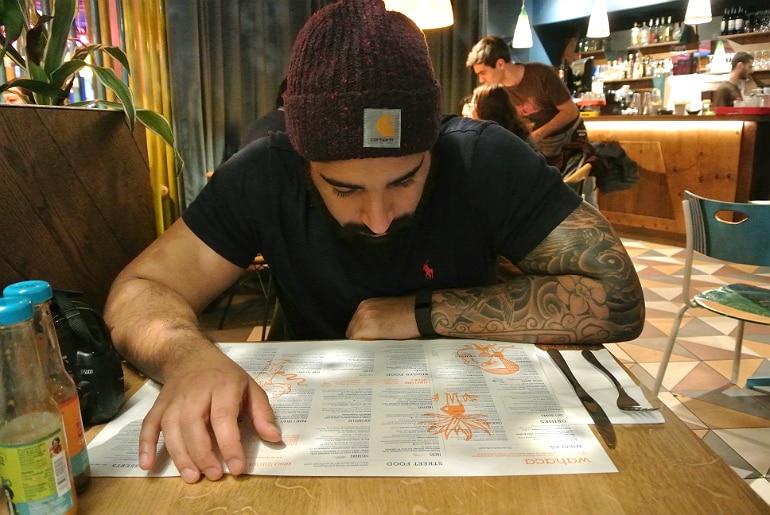 Wahaca London menu