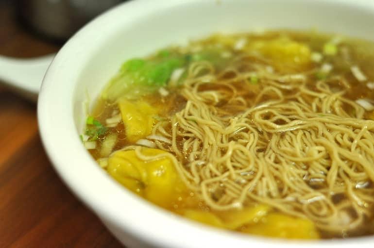 Wonton noodle soup mii & U milton keynes