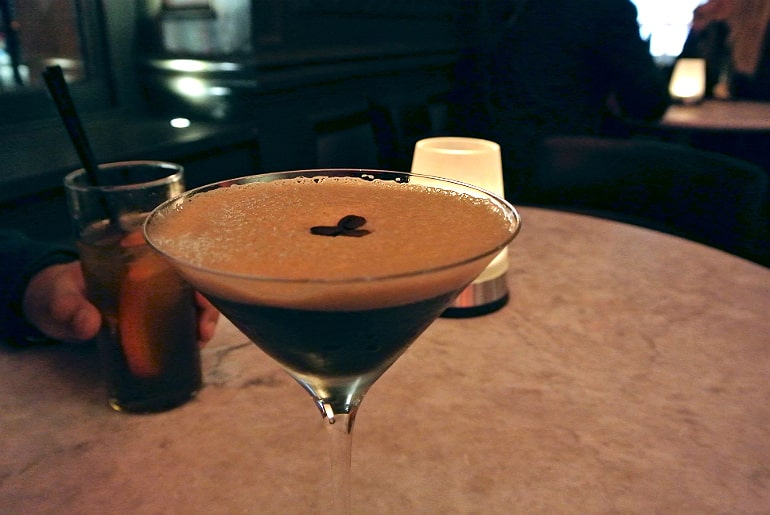 andaz london espresso martini