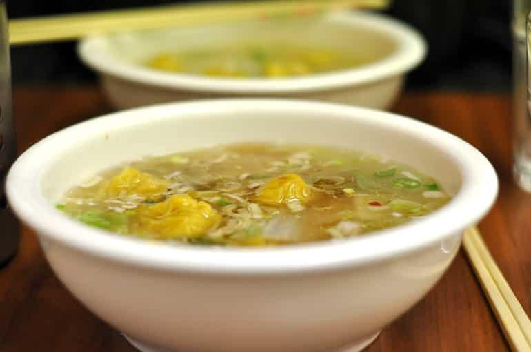 wonton noodle soup milton keynes Mii & u