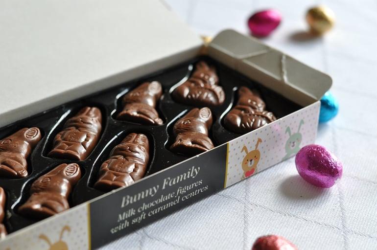 Beechs chocolate review caramel bunnies